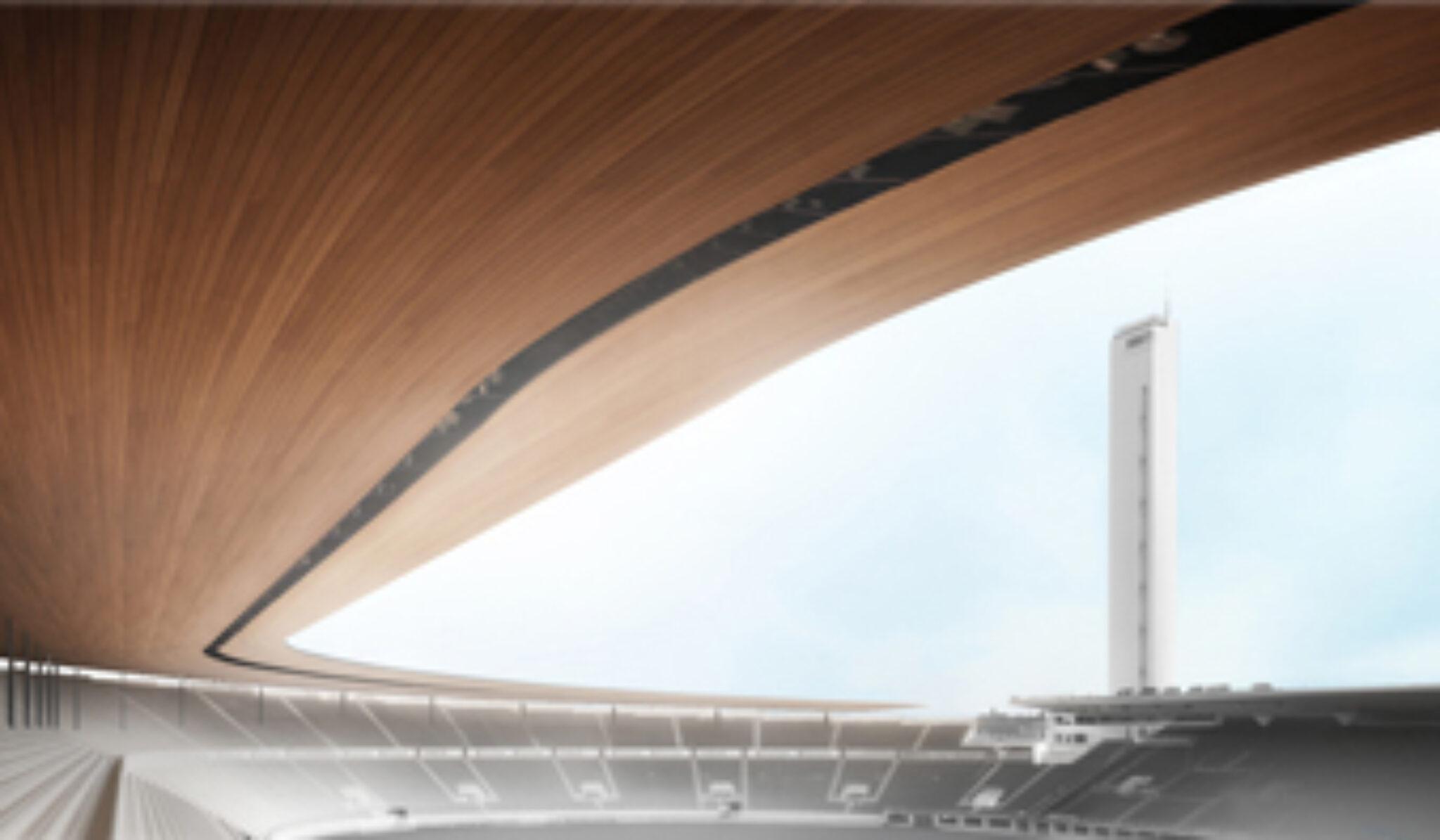 Olympiastadionille kaavailtu katos