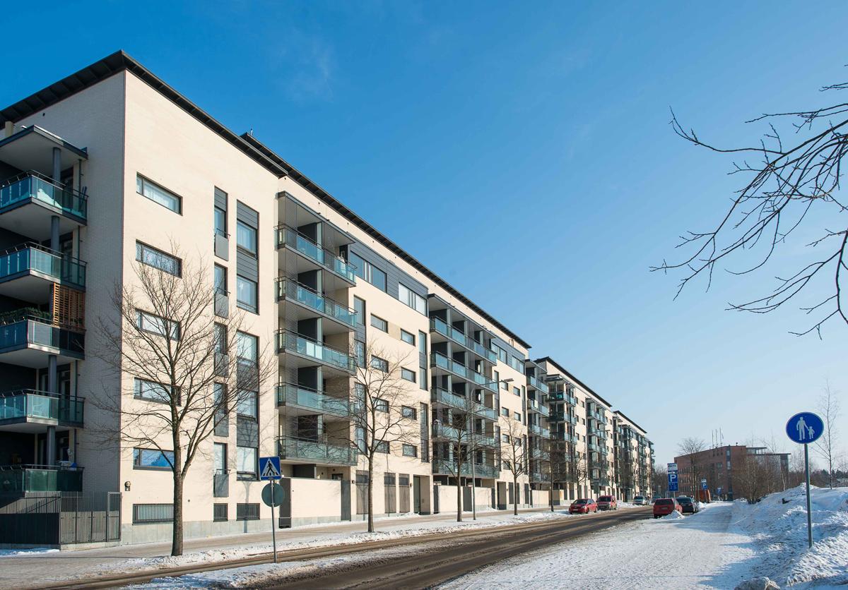 Vuosaaressa Retkeilijänkadulla sijaitseva kiinteistö on yksi projektin kohteista.