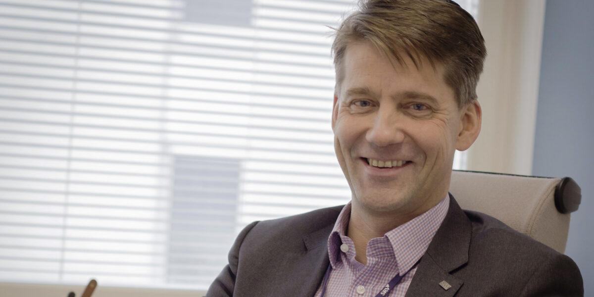 SRV:n toimitusjohtaja Juha Pekka Ojala.
