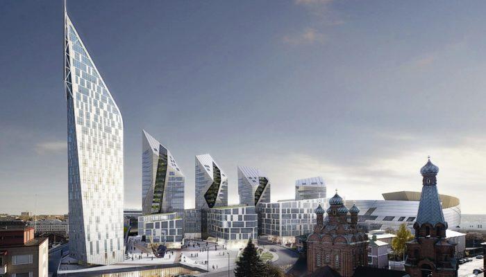 Arkkitehti Daniel Libeskindin Tampereen kansi -suunnitelma