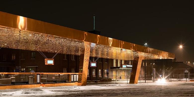 Lahden kaukoliikenteen terminaali muuttaa rautatieaseman viereen, uuteen matkakeskukseen helmikuun alussa.