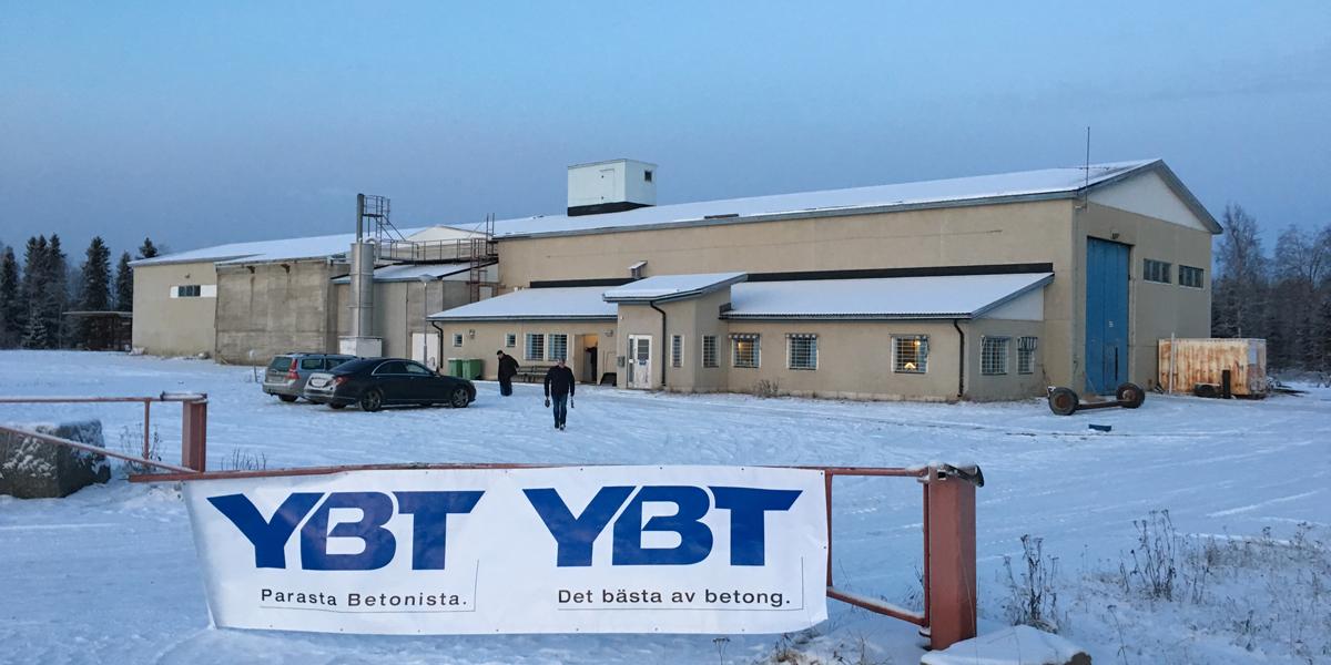 YBT remontoi tuotantotiloja Haaparantaan.
