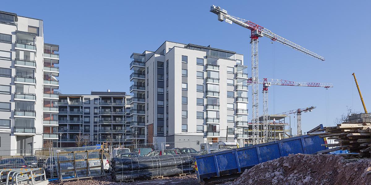 Asuntorakentaminen Espoo NET 3213