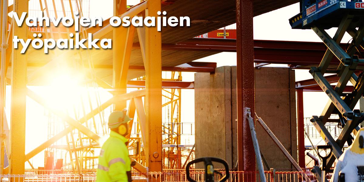 ncc rakennus avoimet työpaikat Kajaani