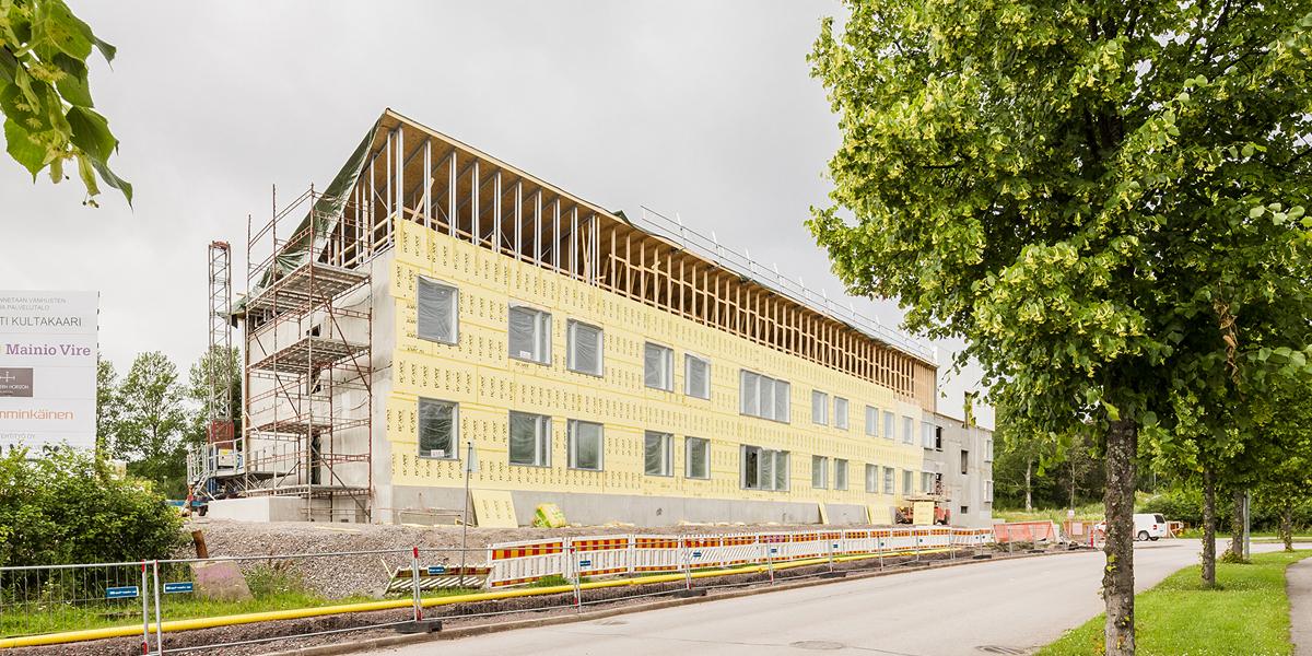 Northern Horizon Capitalin omistama, Lahdessa sijaitseva vanhusten asuin- ja palvelutalo valmistui viime tammikuussa.