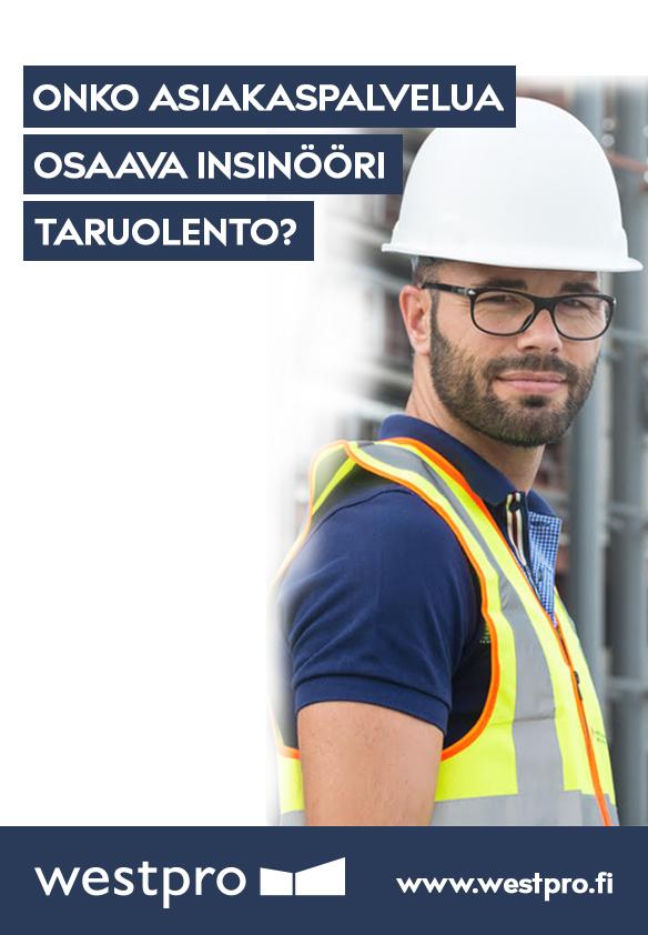 rakennuslehti avoimet työpaikat Rauma