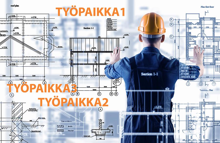 rakennusalan työnjohtaja Akaa