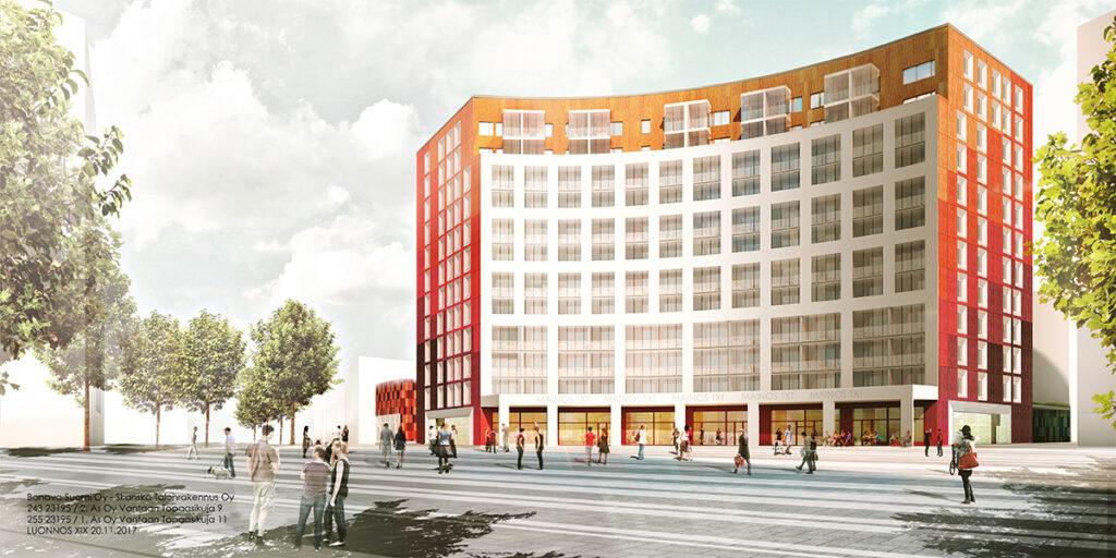 Helsinki Region Construction Projects Rakennusprojektit Page