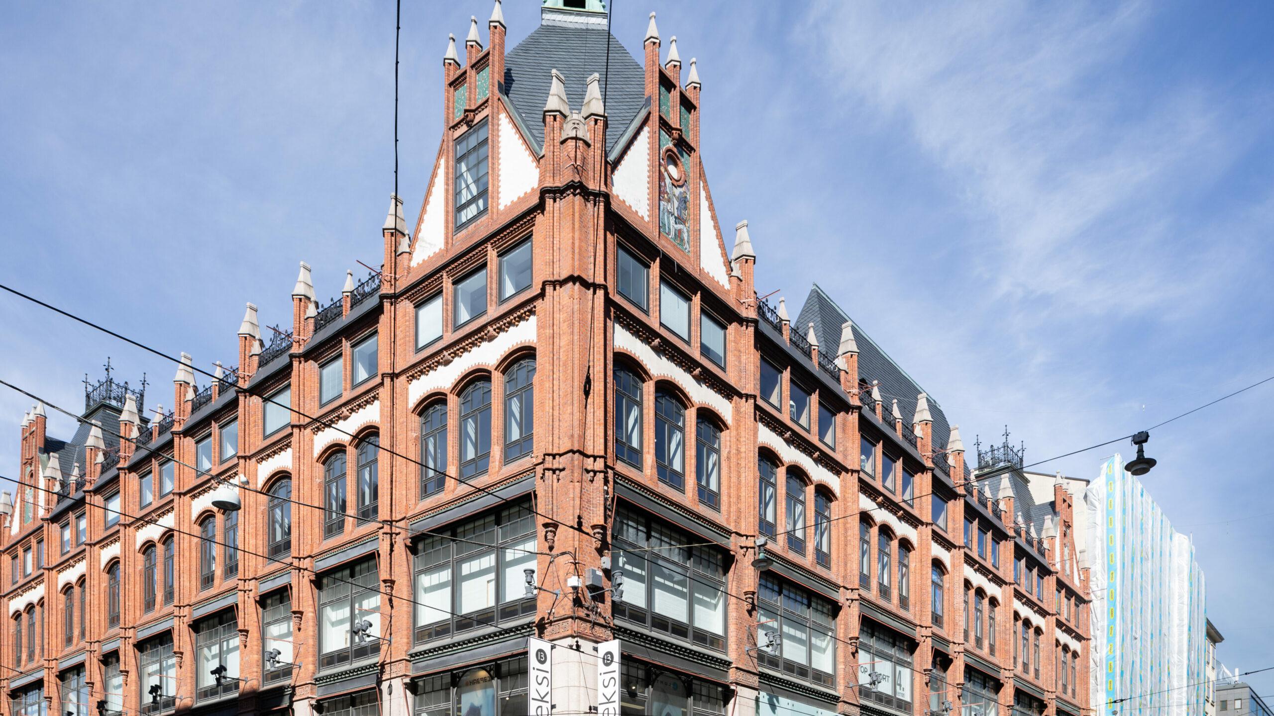 Perinteikäs tavaratalo menee kiinni Aleksanterinkadulla – kaupunki ja kiinteistönomistaja täysin eri mieltä rakennuksen tulevasta käytöstä